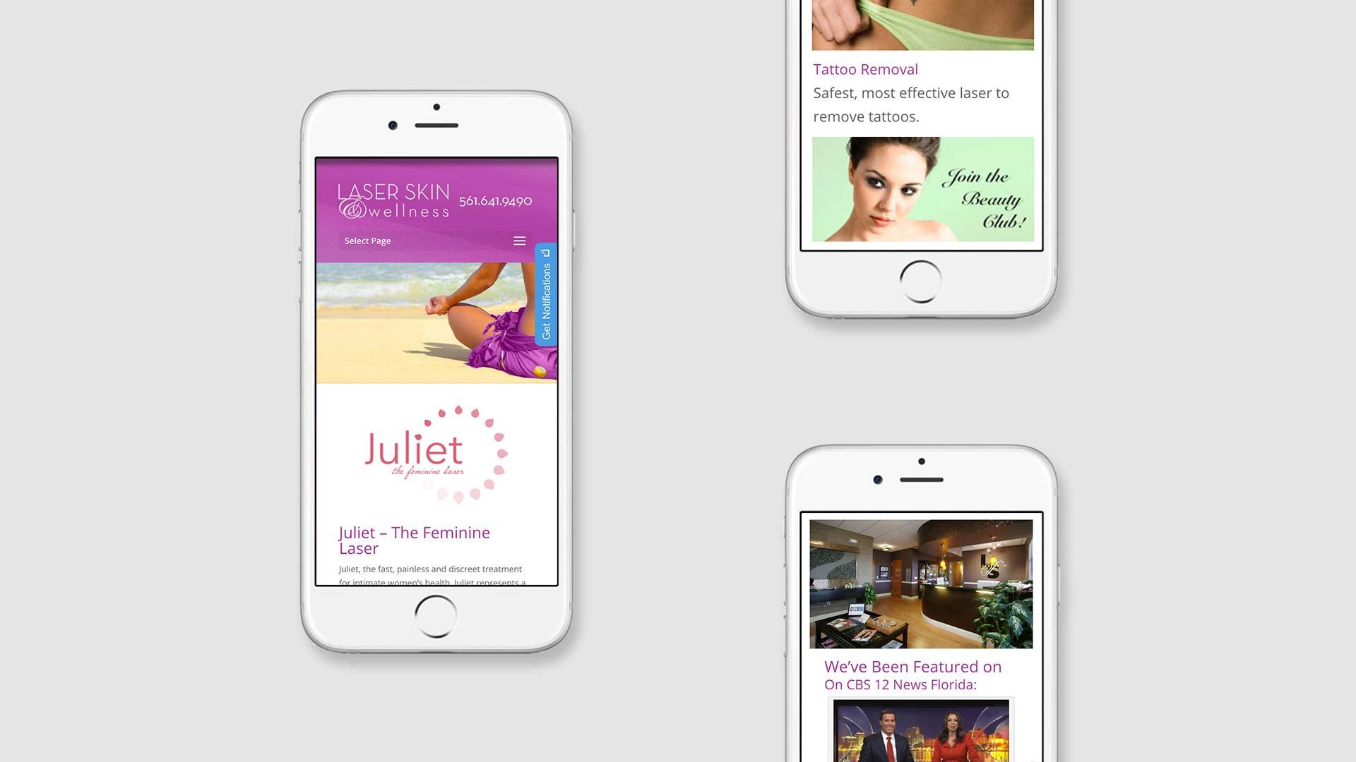 Responsive mobile web design Chicago IL